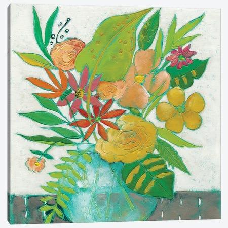 Homestead Floral II Canvas Print #ZAR34} by Chariklia Zarris Canvas Print