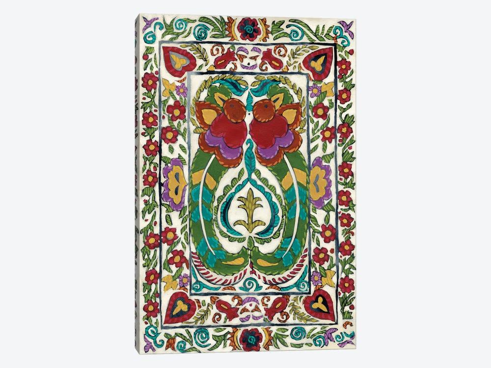 Batik Embroidery III by Chariklia Zarris 1-piece Canvas Art Print