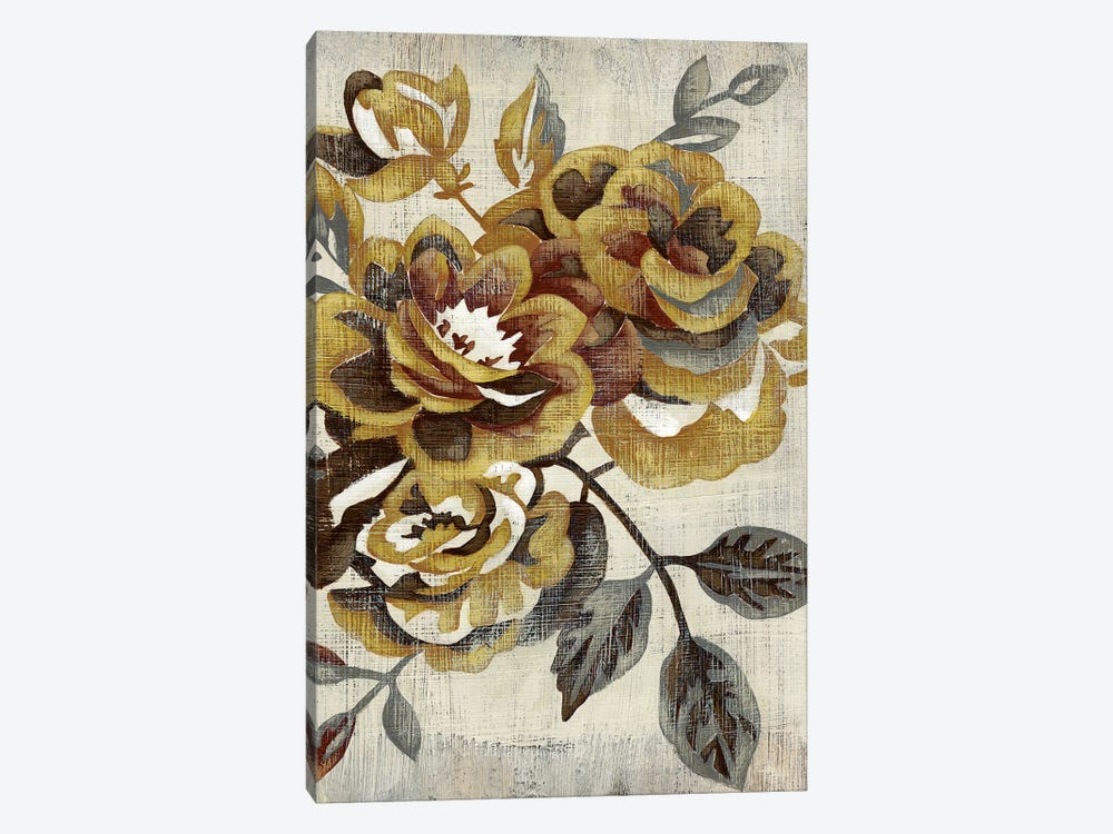 Honeyed Blooms I by Chariklia Zarris 1-piece Canvas Artwork