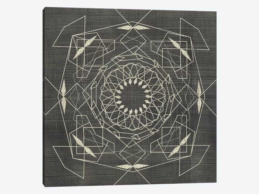 Geometric Tile V by Chariklia Zarris 1-piece Canvas Art Print