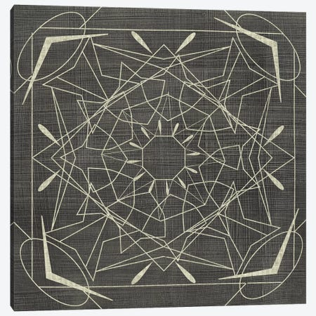 Geometric Tile VII 3-Piece Canvas #ZAR363} by Chariklia Zarris Canvas Art Print