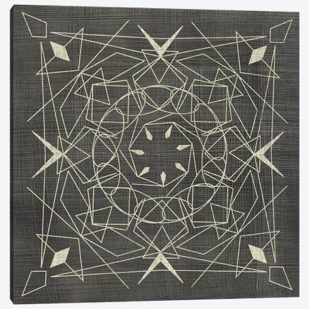 Geometric Tile VIII 3-Piece Canvas #ZAR364} by Chariklia Zarris Canvas Art