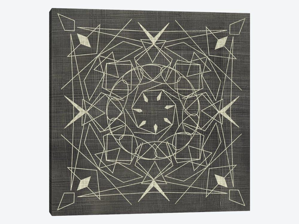 Geometric Tile VIII by Chariklia Zarris 1-piece Canvas Artwork