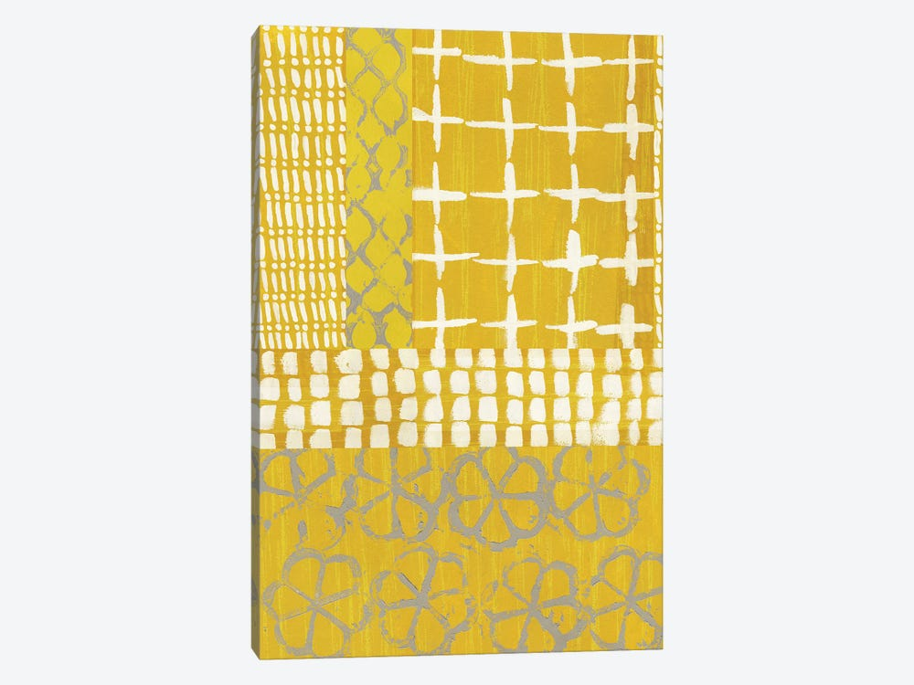 Golden Blockprint I by Chariklia Zarris 1-piece Art Print