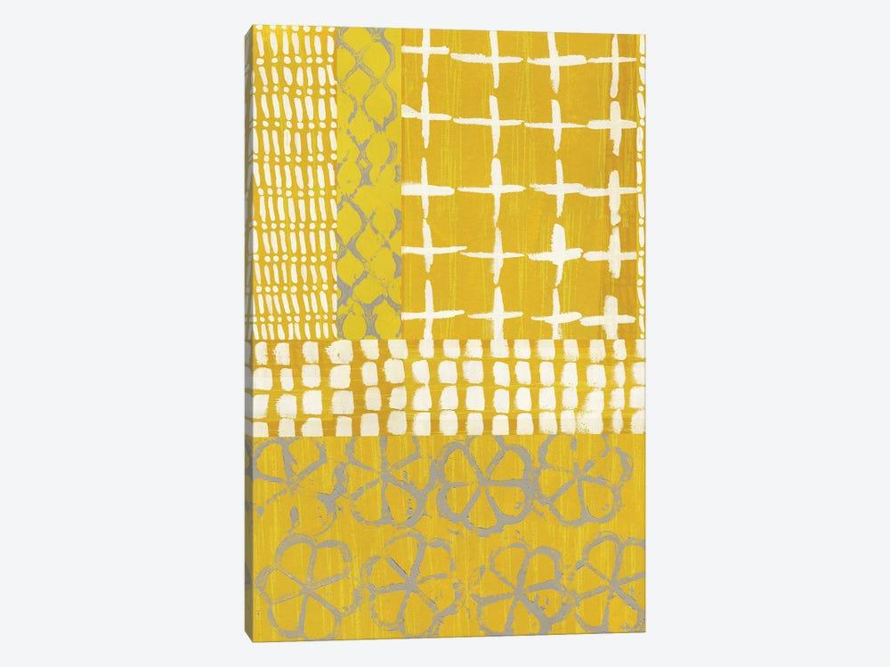 Golden Blockprint I by Chariklia Zarris 1-piece Art Print