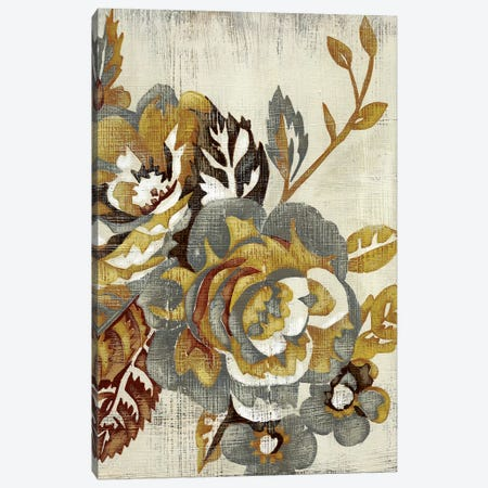 Honeyed Blooms II Canvas Print #ZAR36} by Chariklia Zarris Art Print