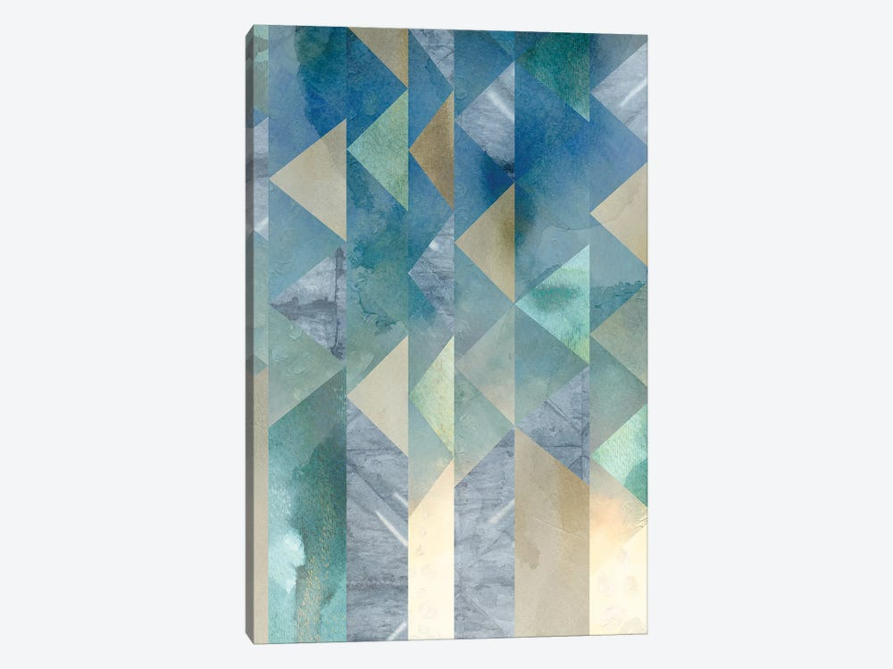 Ocean Reflections II by Chariklia Zarris 1-piece Canvas Print