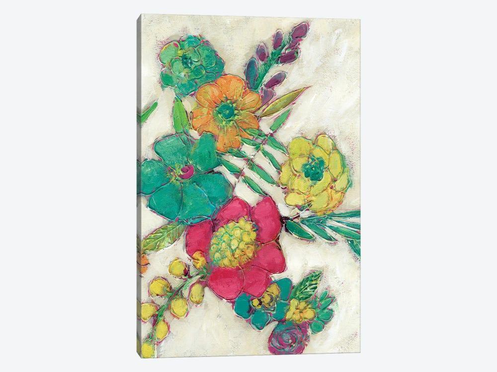 Olive's Flowers II by Chariklia Zarris 1-piece Canvas Art