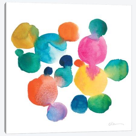 Jig I Canvas Print #ZAR402} by Chariklia Zarris Canvas Artwork
