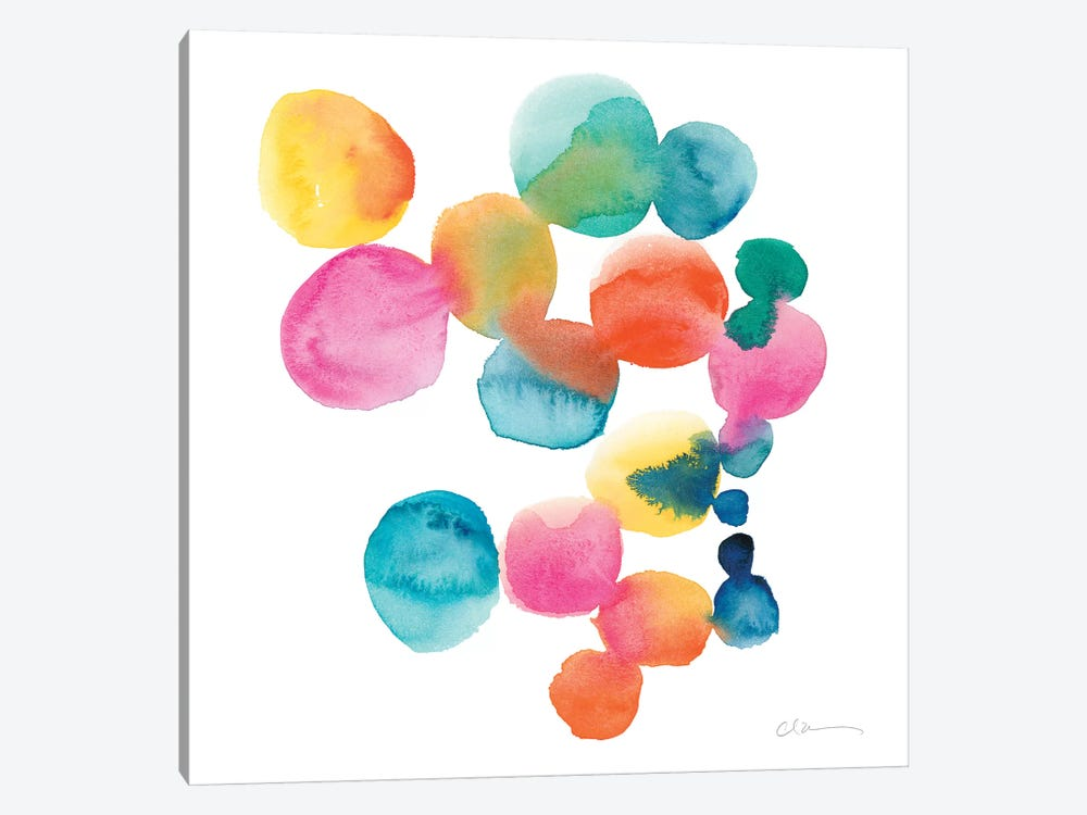 Jig IV by Chariklia Zarris 1-piece Canvas Wall Art