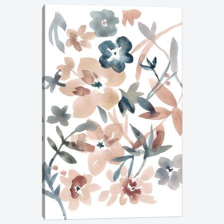 Martinique Floral I Canvas Print #ZAR408} by Chariklia Zarris Canvas Wall Art
