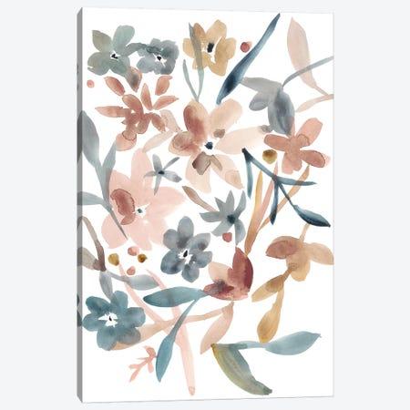 Martinique Floral II Canvas Print #ZAR409} by Chariklia Zarris Canvas Wall Art
