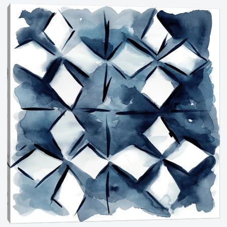 Indigo Study IV Canvas Print #ZAR40} by Chariklia Zarris Art Print