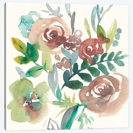 Rosealeah I Canvas Print #ZAR418} by Chariklia Zarris Canvas Art Print