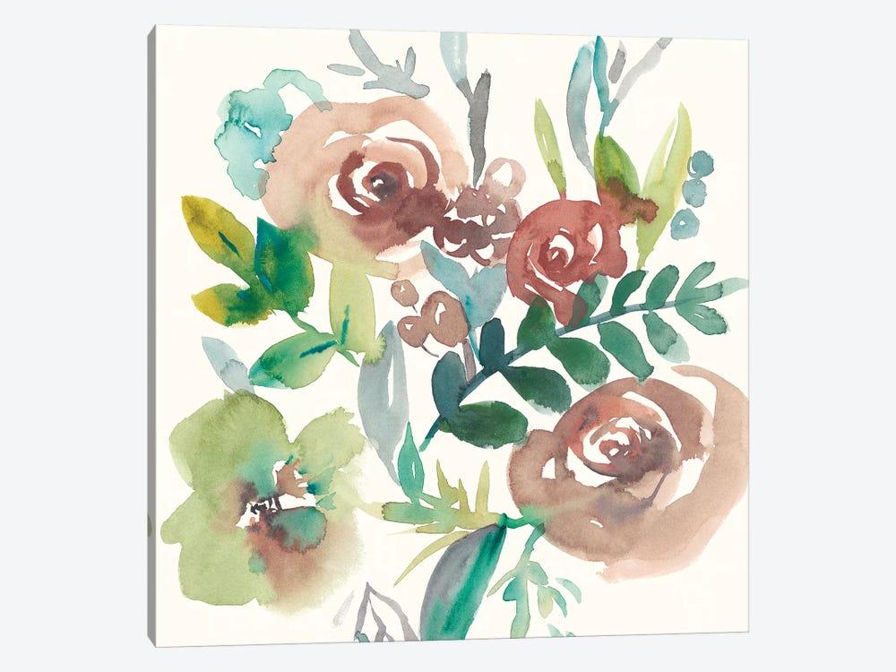 Rosealeah I by Chariklia Zarris 1-piece Canvas Art