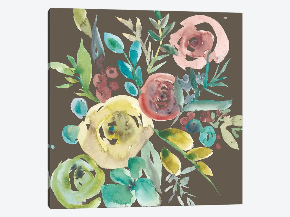 Rosealeah IV by Chariklia Zarris 1-piece Canvas Wall Art