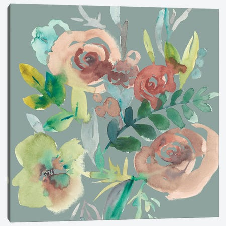 Rosealeah V Canvas Print #ZAR422} by Chariklia Zarris Canvas Art
