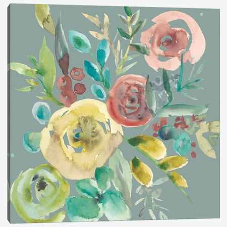 Rosealeah VI Canvas Print #ZAR423} by Chariklia Zarris Canvas Wall Art