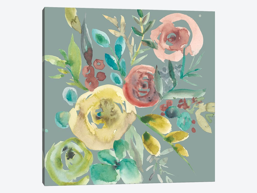 Rosealeah VI by Chariklia Zarris 1-piece Canvas Artwork