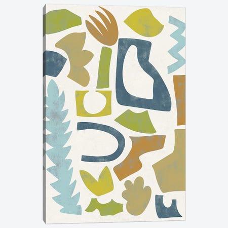 Swift II 3-Piece Canvas #ZAR433} by Chariklia Zarris Canvas Art Print