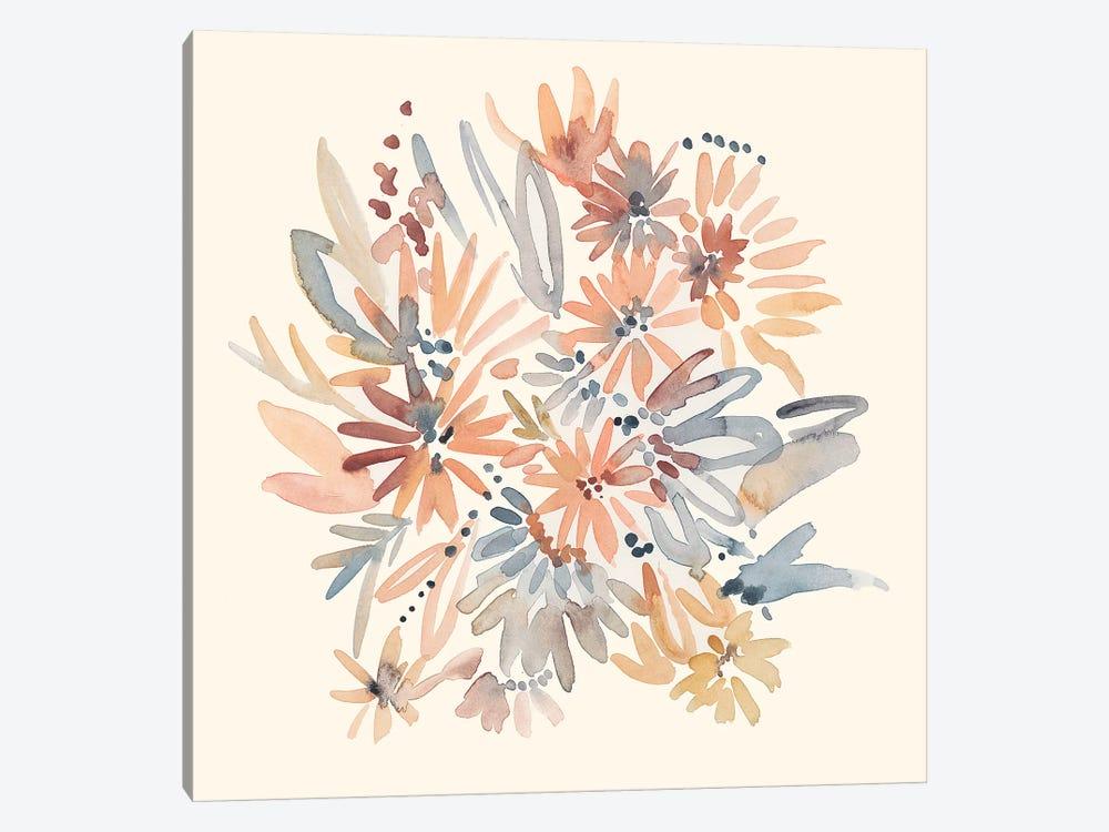 Wallflowers I by Chariklia Zarris 1-piece Canvas Wall Art