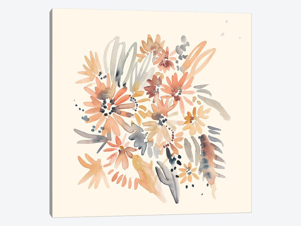 Wallflowers II by Chariklia Zarris 1-piece Canvas Print