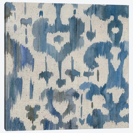 Water Ikat I Canvas Print #ZAR436} by Chariklia Zarris Canvas Artwork
