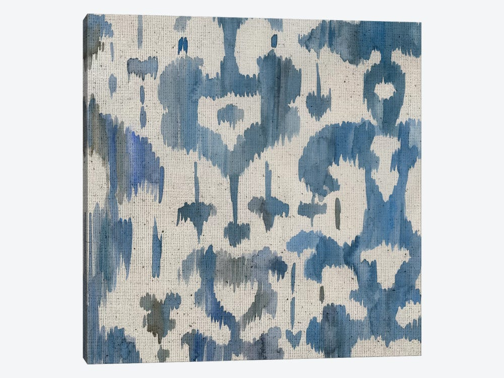 Water Ikat I 1-piece Canvas Artwork