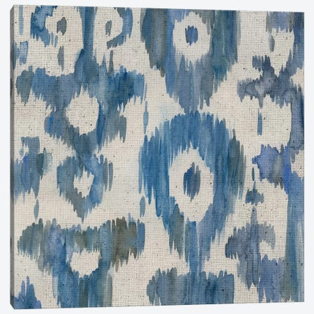 Water Ikat II Canvas Print #ZAR437} by Chariklia Zarris Canvas Artwork