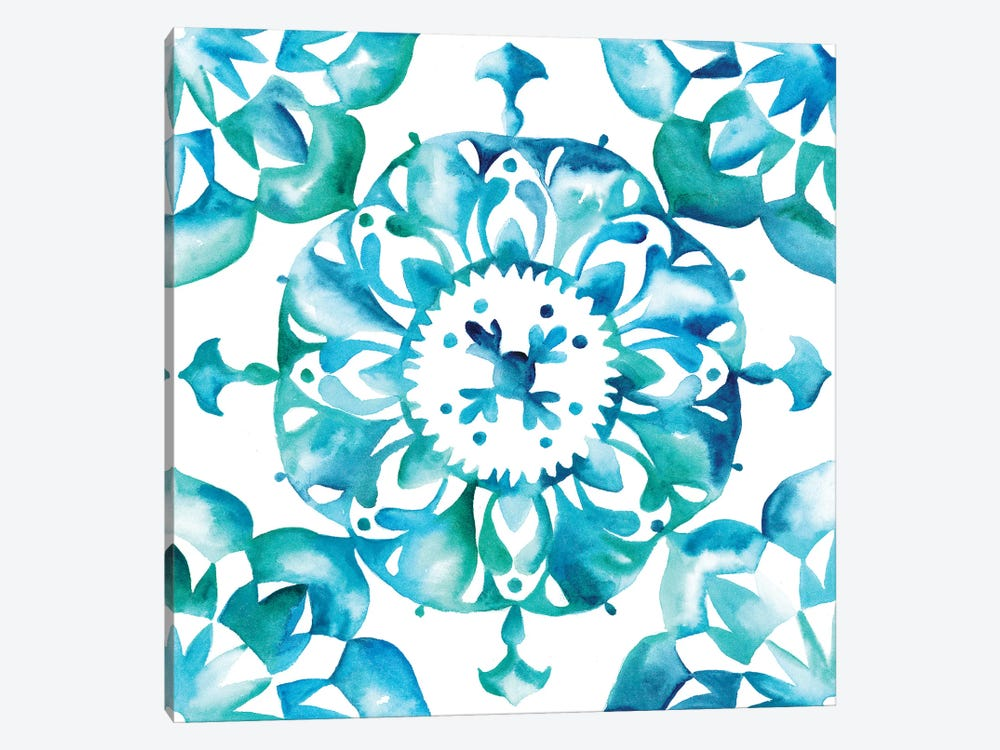 Meditation Tiles I by Chariklia Zarris 1-piece Art Print