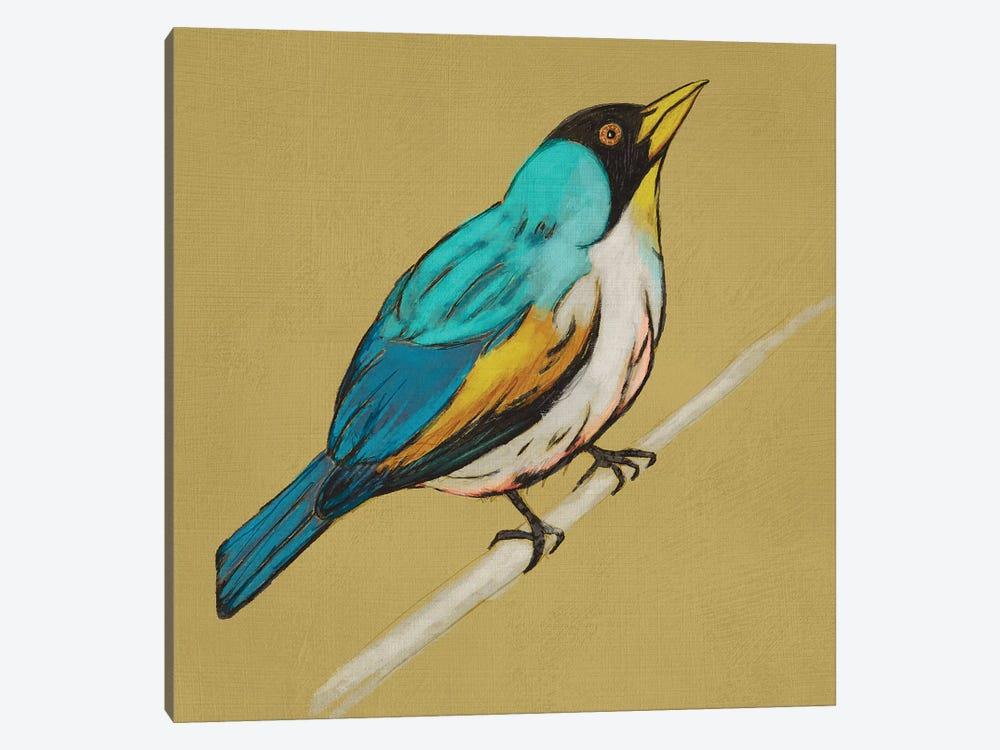Winged Sketch II On Ochre by Chariklia Zarris 1-piece Art Print