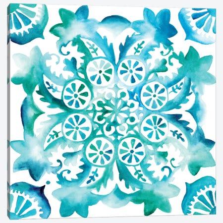 Meditation Tiles II Canvas Print #ZAR44} by Chariklia Zarris Canvas Artwork
