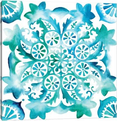 Meditation Tiles II Canvas Art Print