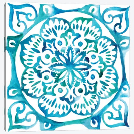 Meditation Tiles III Canvas Print #ZAR45} by Chariklia Zarris Canvas Art