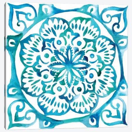 Meditation Tiles III Canvas Print #ZAR45} by Chariklia Zarris Canvas Art