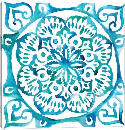 Meditation Tiles III Canvas Art Print
