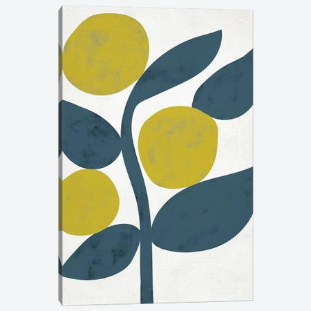 Branch III 3-Piece Canvas #ZAR461} by Chariklia Zarris Canvas Wall Art