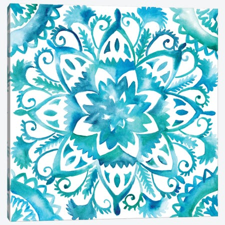 Meditation Tiles IV Canvas Print #ZAR46} by Chariklia Zarris Canvas Artwork