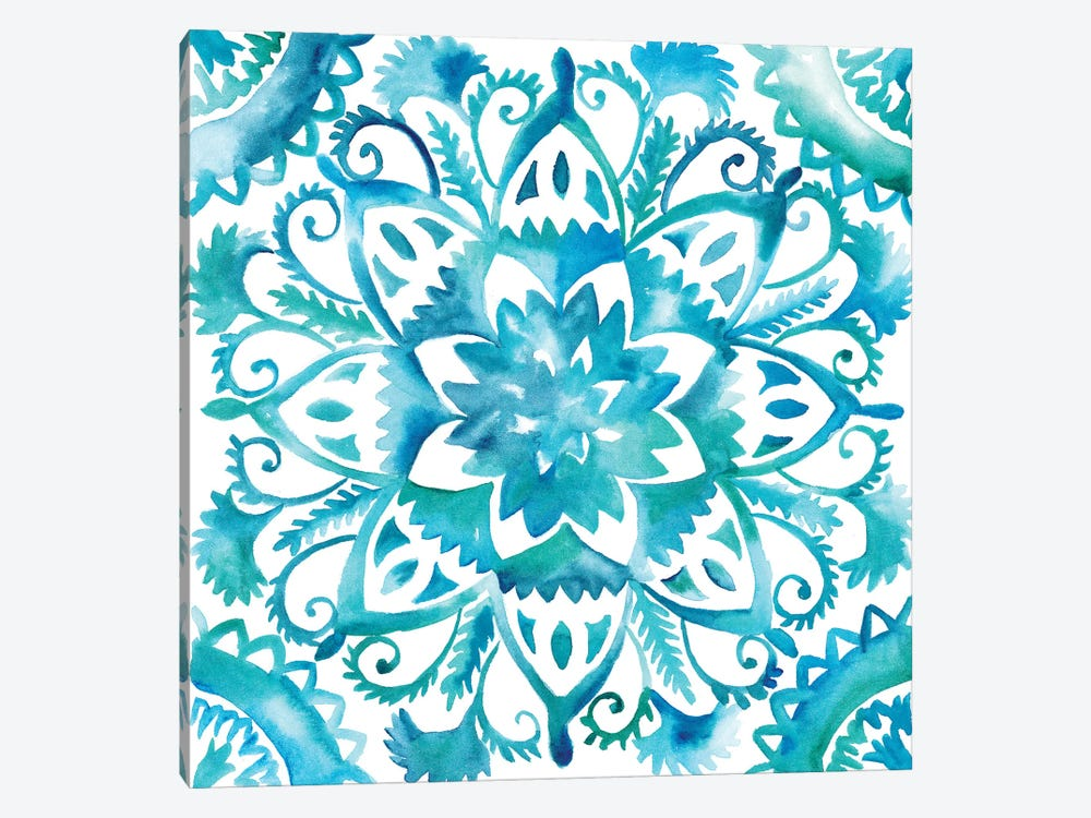 Meditation Tiles IV by Chariklia Zarris 1-piece Canvas Wall Art