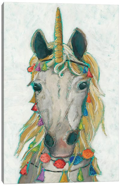 Fiesta Unicorn I Canvas Art Print