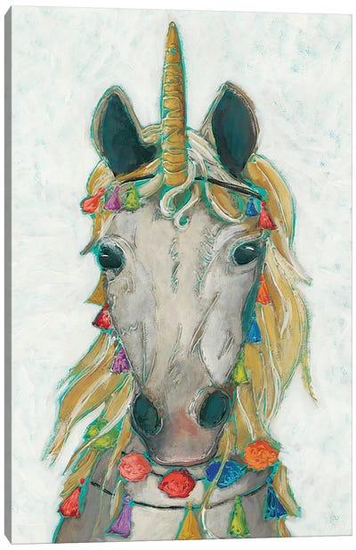Fiesta Unicorn I Canvas Art Print