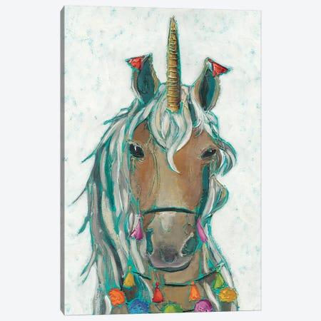 Fiesta Unicorn II Canvas Print #ZAR478} by Chariklia Zarris Canvas Print