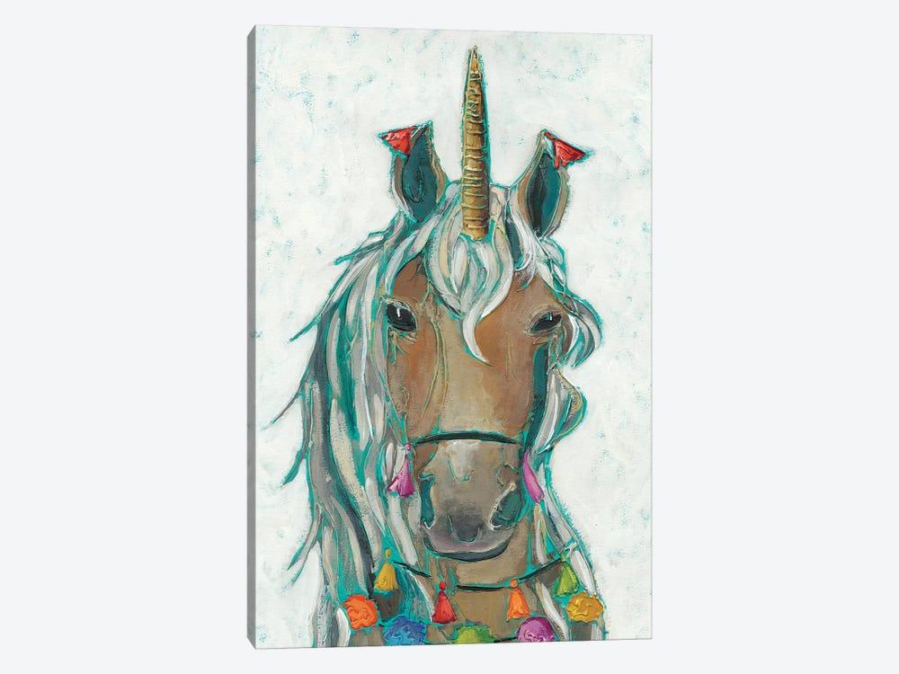 Fiesta Unicorn II by Chariklia Zarris 1-piece Canvas Wall Art