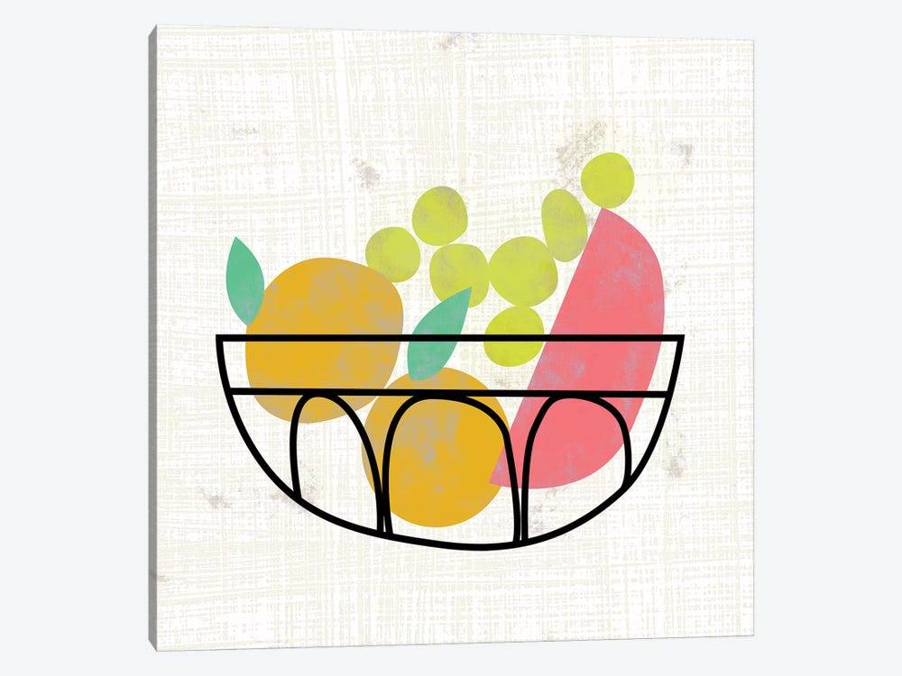 Fruitilicious IV by Chariklia Zarris 1-piece Canvas Art Print