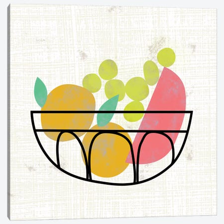 Fruitilicious IV Canvas Print #ZAR495} by Chariklia Zarris Canvas Wall Art