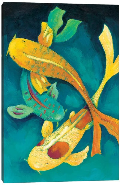 Ornamental Koi I Canvas Art Print