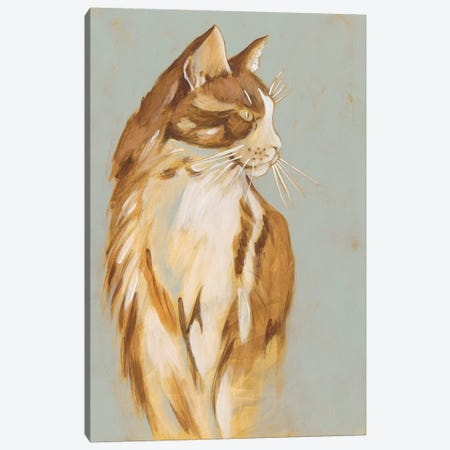 Lap Cat I Canvas Print #ZAR504} by Chariklia Zarris Canvas Wall Art