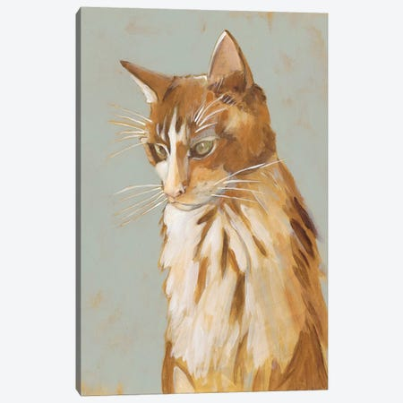 Lap Cat II Canvas Print #ZAR505} by Chariklia Zarris Canvas Art