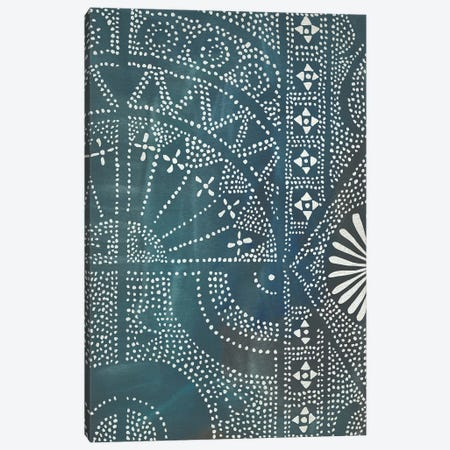 Batik Cloth I Canvas Print #ZAR526} by Chariklia Zarris Canvas Artwork