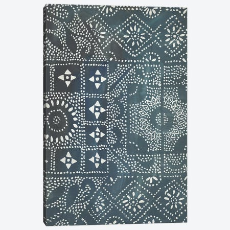 Batik Cloth II Canvas Print #ZAR527} by Chariklia Zarris Canvas Wall Art